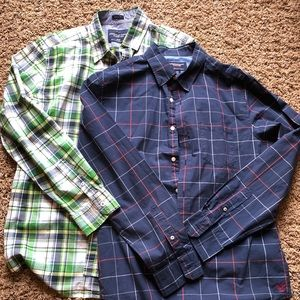 Bundle of 2 American Eagle button downs